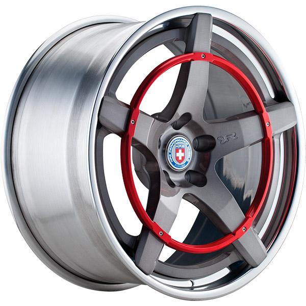 Трехсоставные кованые диски HRE Recoil Ring RB Series