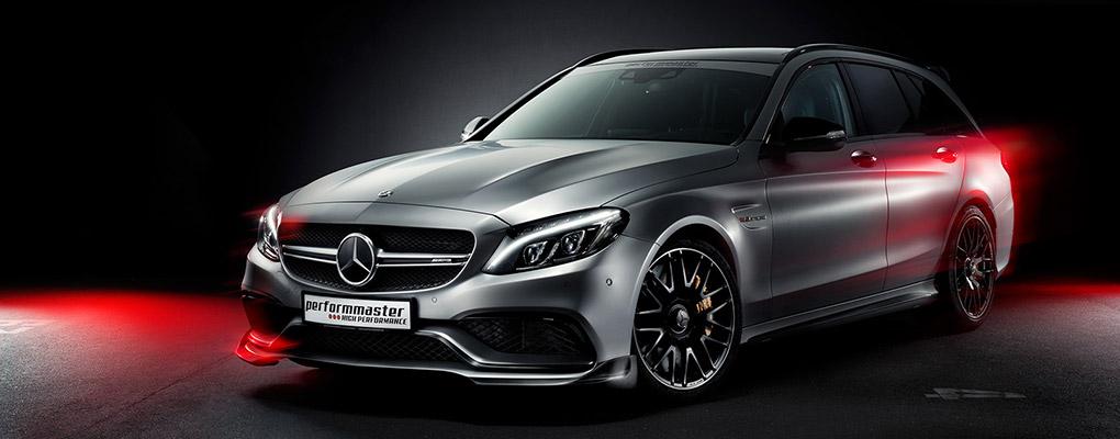 Чип тюнинг Performmaster Mercedes-Benz C63 AMG W205