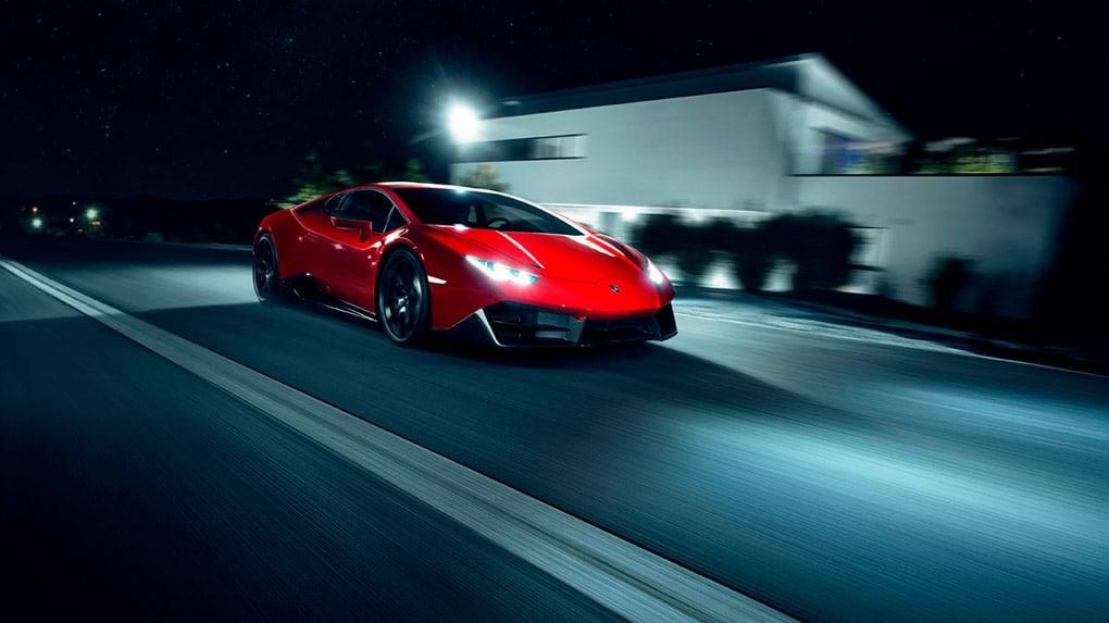 Lamborghini LP580-2 Huracan RWD Novitec