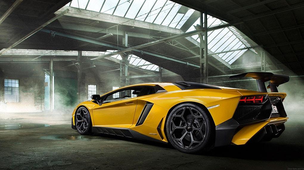 Lamborghini LP750-4 Aventador SV Novitec