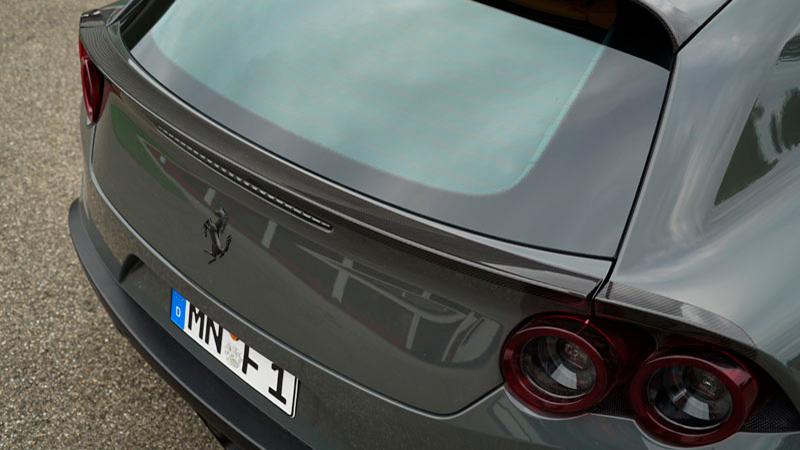 Novitec Ferrari GTC4 Lusso Aero Rear Lip Spoiler