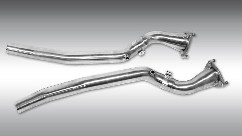 Novitec Ferrari GTC4 Lusso Exhaust Catalyst Replacement Pipes