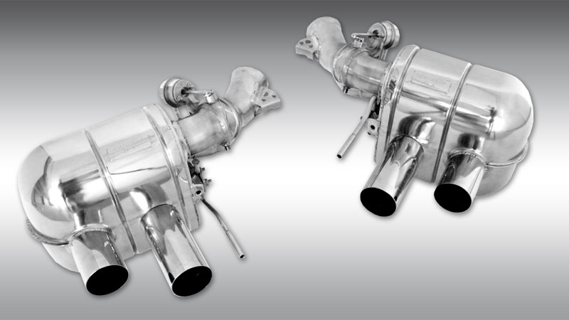 Novitec Ferrari GTC4 Lusso Exhaust System with Valves
