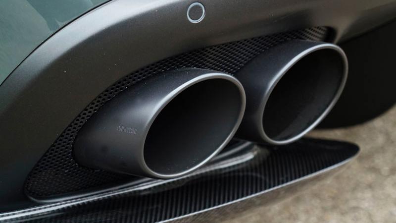 Novitec Ferrari GTC4 Lusso Exhaust Tailpipes Black
