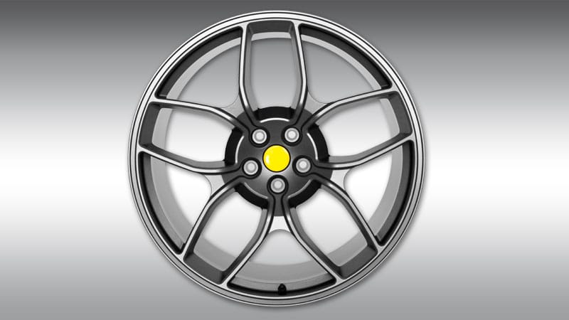 Novitec Ferrari GTC4 Lusso Wheels Type NF4 Anthracite