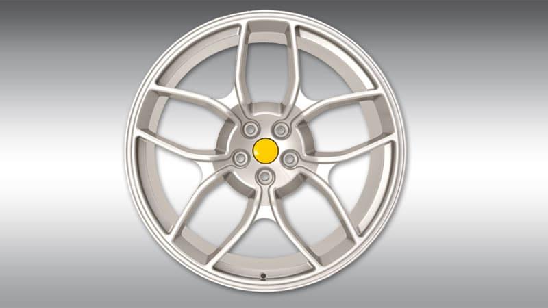 Novitec-Ferrari GTC4 Lusso Wheels Type NF4 Silver
