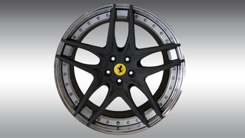 Novitec Ferrari GTC4 Lusso Wheels Type NF7 Black