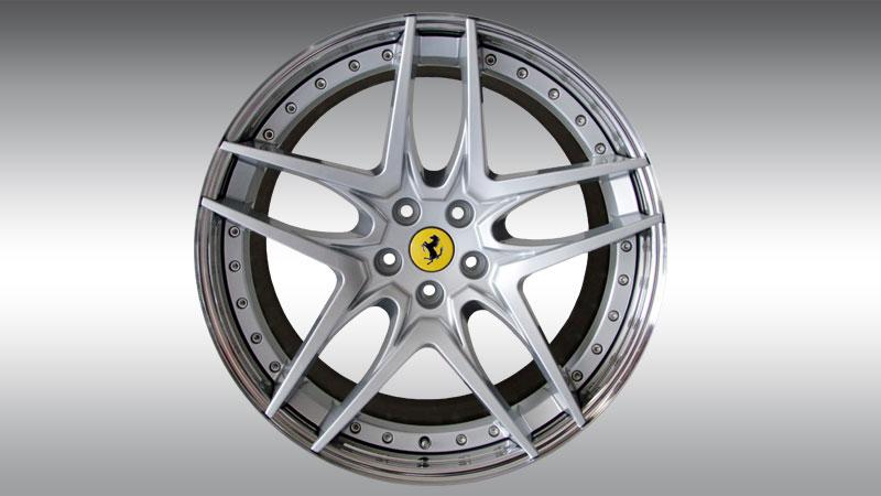 Novitec Ferrari GTC4 Lusso Wheels Type NF7 Silver