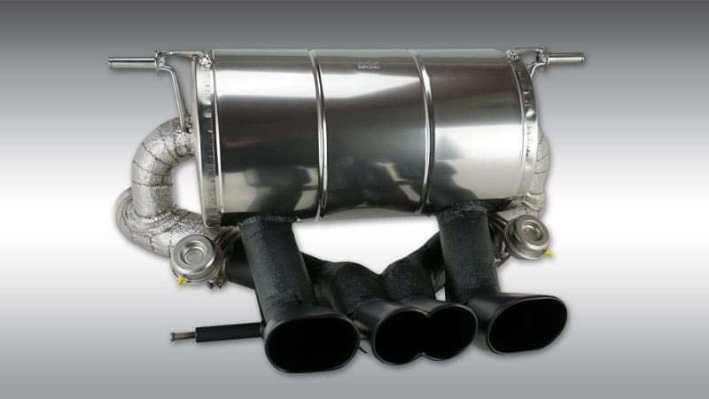 Exhaust System with Valves