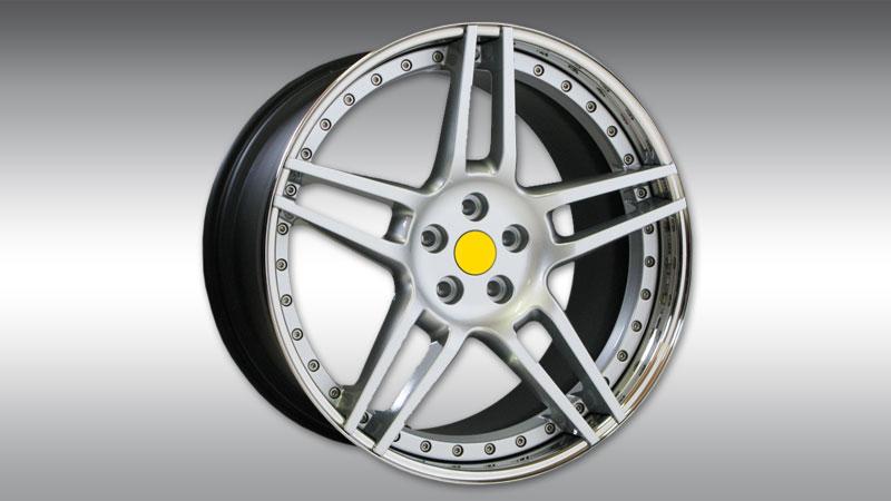Novitec Maserati GT Grancabrio MC Stradale Wheels Type NM3 Silver