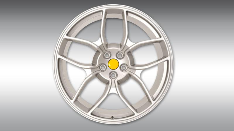 Novitec Maserati GT Grancabrio MC Stradale Wheels Type NM4 Silver