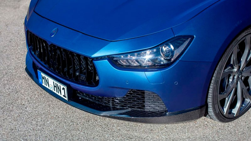 Novitec Maserati Ghibli Aero Front Lip Spoiler