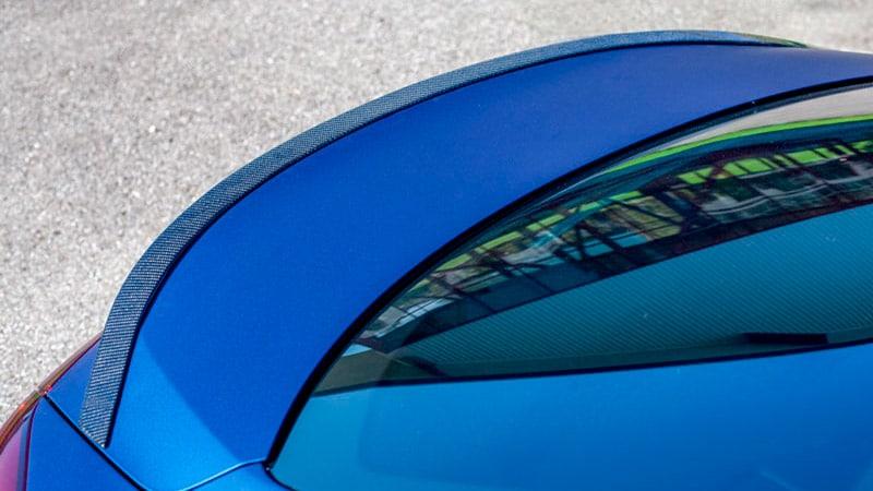 Novitec Maserati Ghibli Aero Rear Lip Spoiler