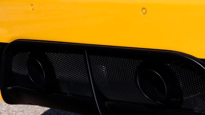 Novitec Maserati Grancabrio MC Stradale Exhaust Tailpipes Black