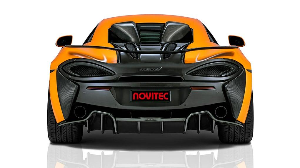 Novitec McLaren 570S программа тюнинга