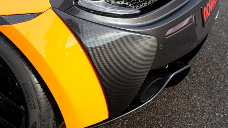 Novitec McLaren 570S Aero Rear Bumper Covers