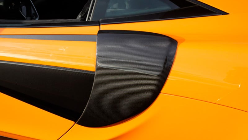 Novitec McLaren 570S Aero Side Intakes Covers