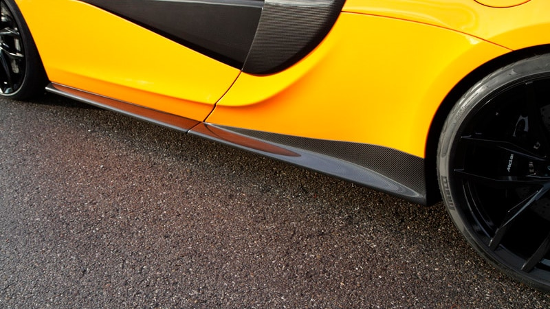 Novitec McLaren 570S Aero Side Panels Set