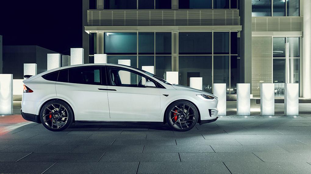 Novitec Tesla Model X программа тюнинга