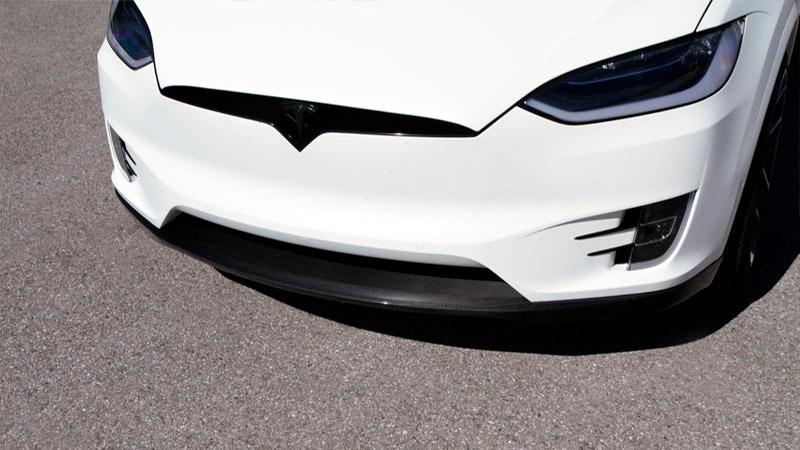 Novitec Tesla Model X Front Lip Spoiler