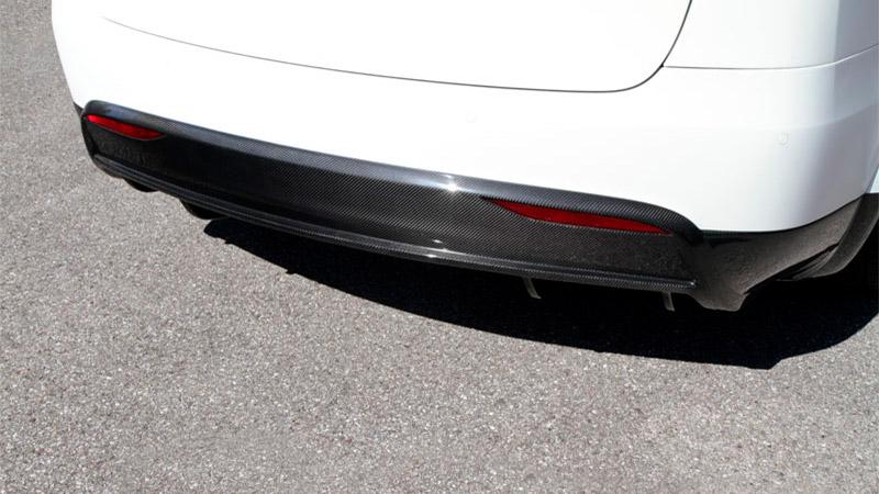 Novitec Tesla Model X Rear Diffusor