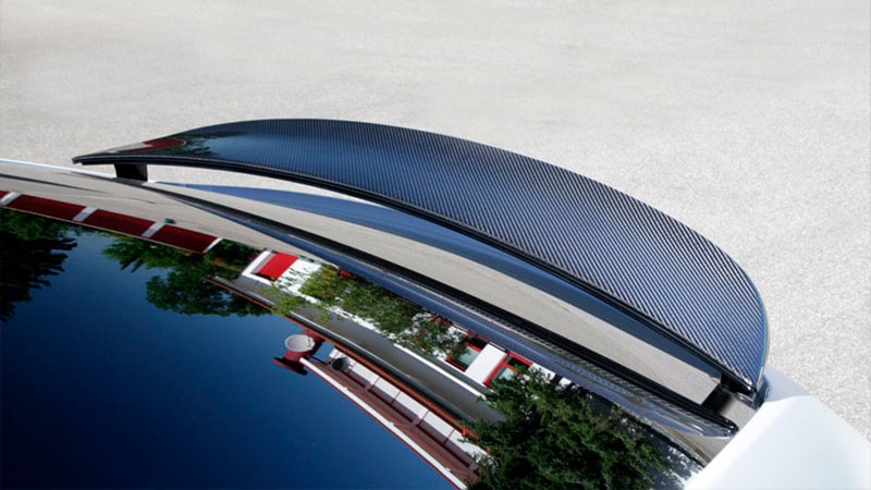 Novitec Tesla Model X Rear Spoiler