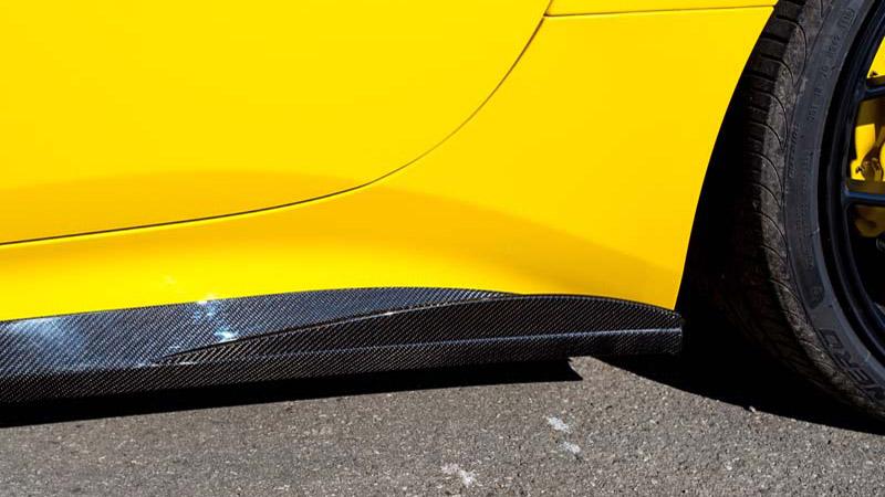 Side Panel Fins