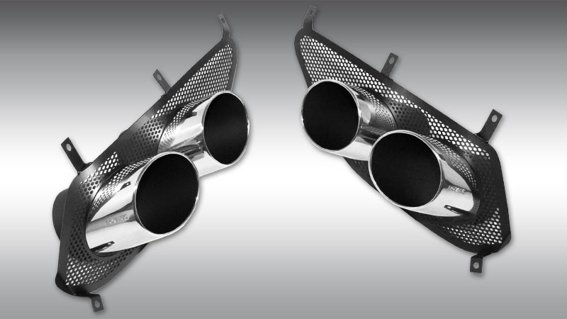 Tail Pipes Chrome