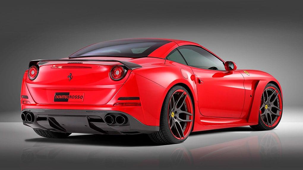 Novitec Ferrari California T N-Largo программа тюнинга