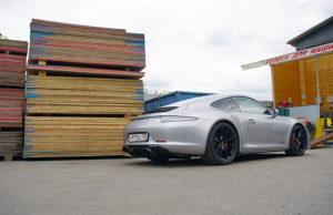 Карбоновый диффузор Vorsteiner V-GT Porsche 991 GTS