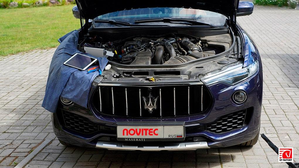 Увеличение мощности Novitec Maserati Levante V6 Diesel