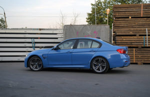 установка BMW M3 F80 Burger Motorsport JB4