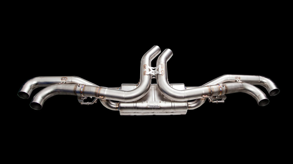 Глушитель iPE Lamborghini URUS