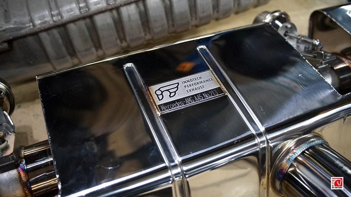 iPE Mercedes-Benz A45 AMG W176 глушитель