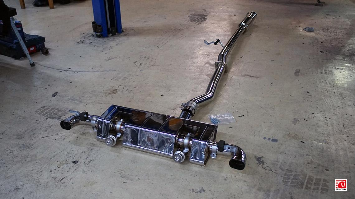 Выхлопная система iPE Mercedes-Benz A45 AMG W176