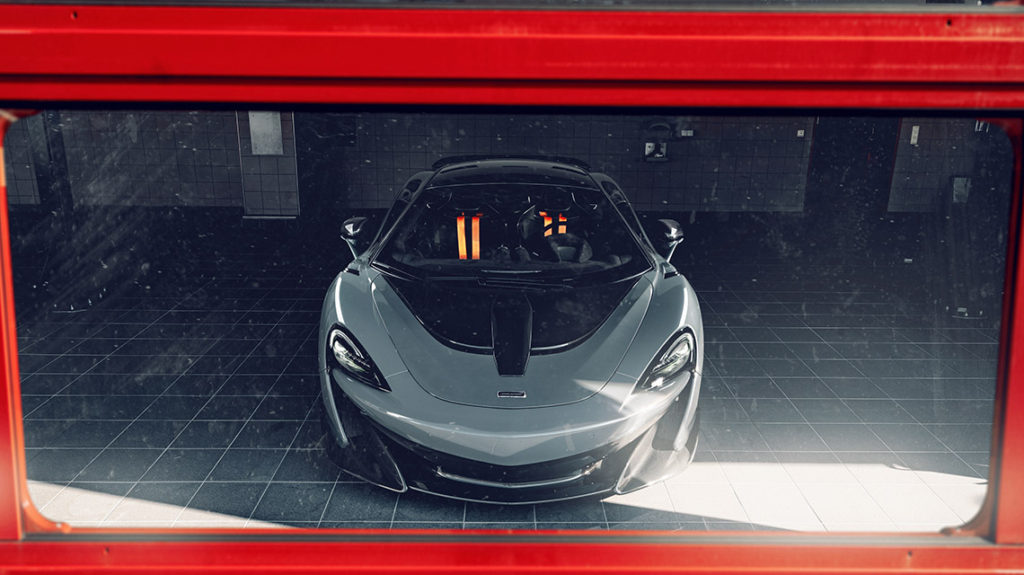 Novitec McLaren 600LT программа тюнинга