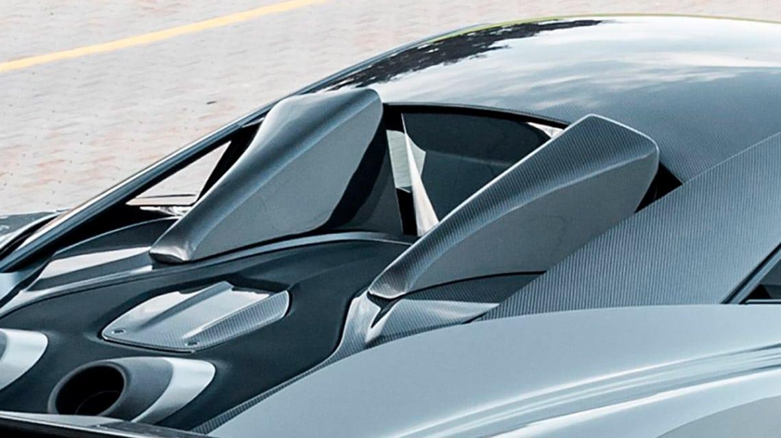 Novitec McLaren 600LT C660010 Air intakes