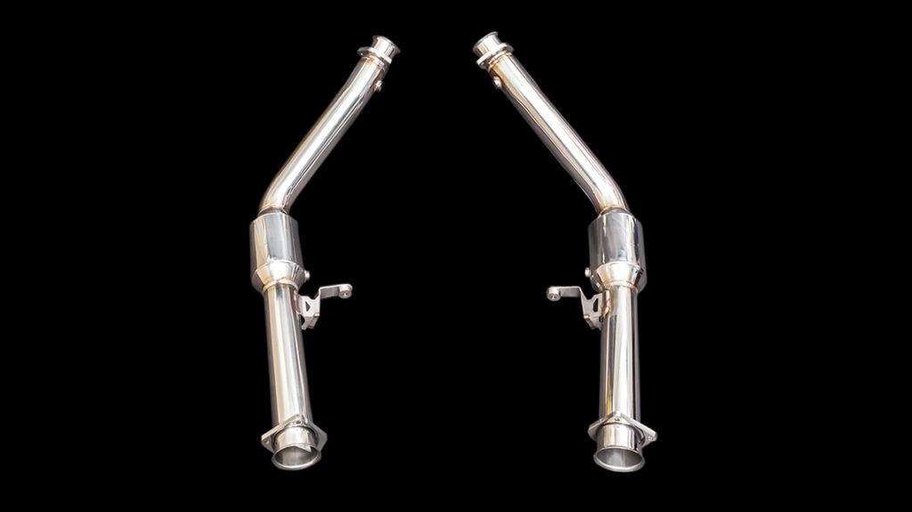 W464 iPE sportcat pipes