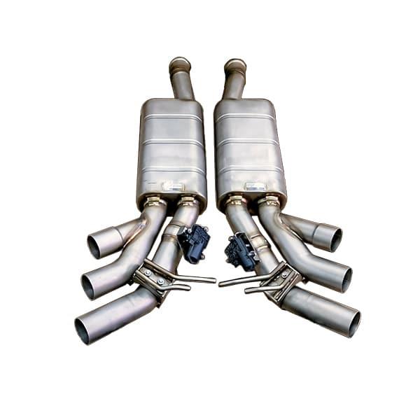 G63 AMG W464 iPE глушители