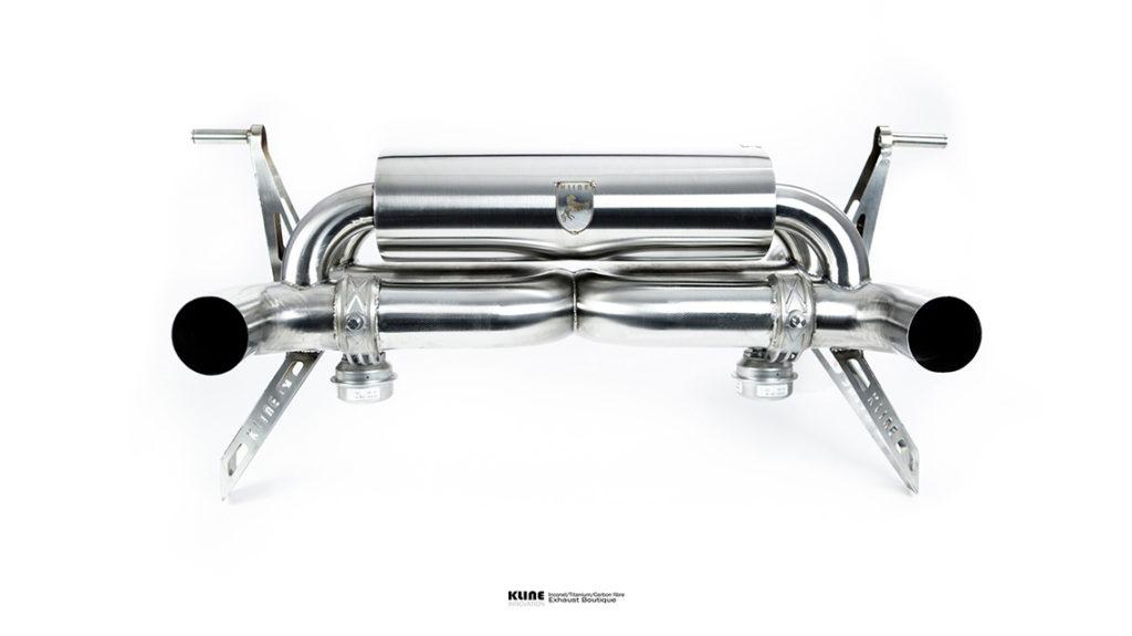 Kline Innovation Lamborghini Huracan Perfomante LP640 выхлоп
