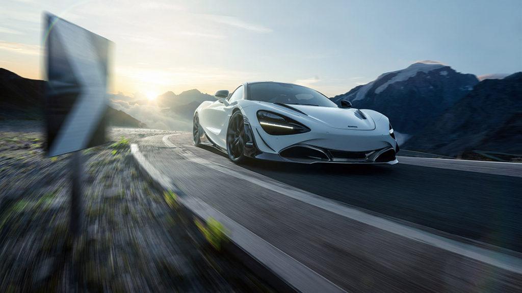 Novitec McLaren 720S программа тюнинга