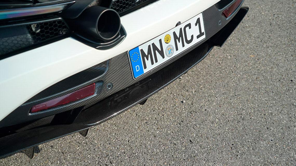 Novitec McLaren 720S C672056 Rear Bumper Diffusor