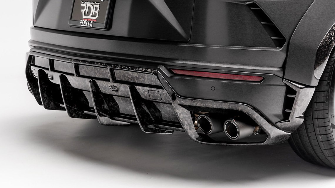 1016 Industries Lamborghini Urus Rear Diffusor