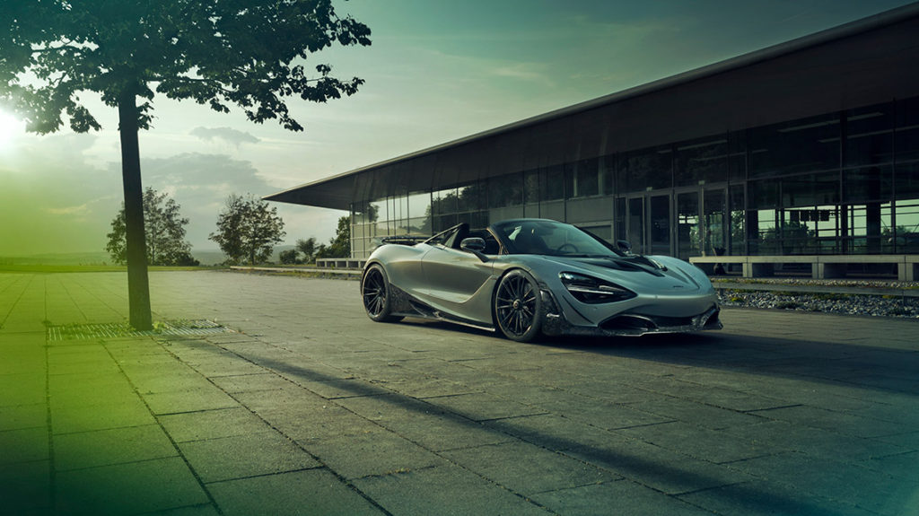 Novitec McLaren 720S Spider программа тюнинга