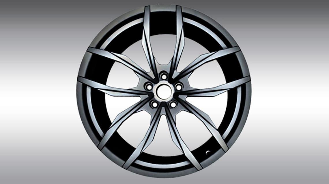 McLaren 720S Spider C460080 MC1 Wheels Anthracite