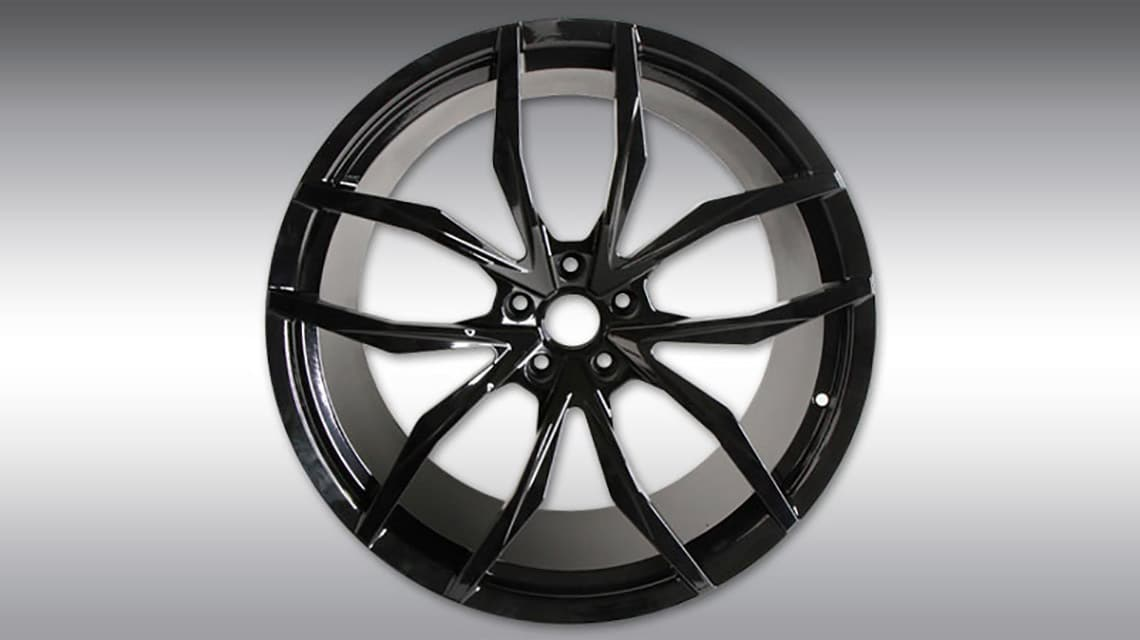 McLaren 720S Spider C460080 MC1 Wheels Black