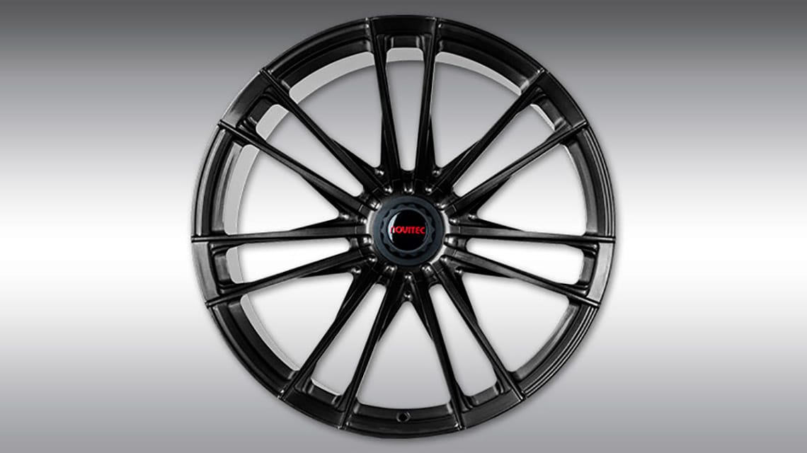 McLaren 720S Spider C460080 MC3 Wheels Satin-Black