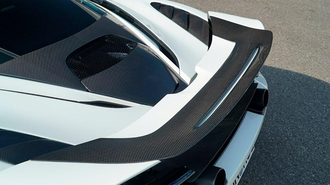 Novitec McLaren 720S Spider C672021 Rear Spoiler
