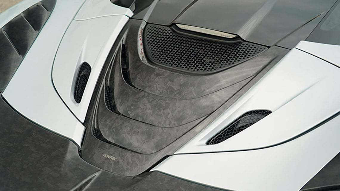 Novitec McLaren 720S Spider Spider C672023 Cover Air Intake Center
