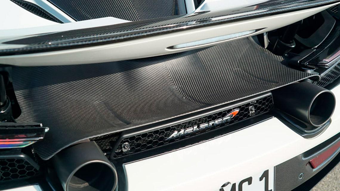 Novitec McLaren 720S Spider C672053 Cover Exhaust Tailpipes